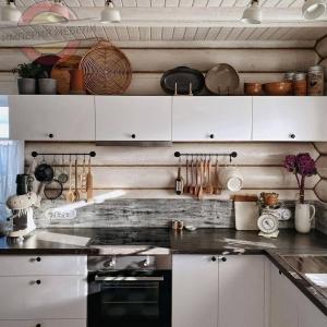 Кухня угловая маленькая №12