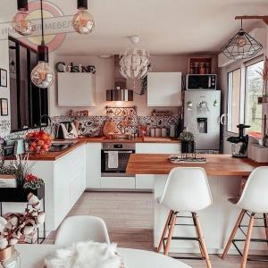 Кухня угловая недорогая №9