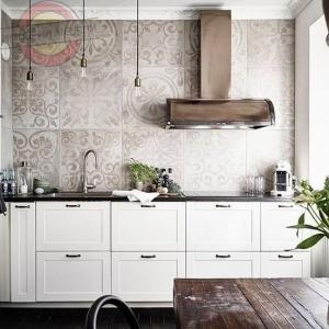 Кухня прямая линейная №15