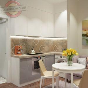 Кухня угловая эконом №3