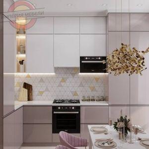 Кухня угловая маленькая №7