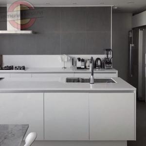 Кухня прямая линейная маленькая №16