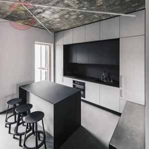 Кухня прямая линейная №14