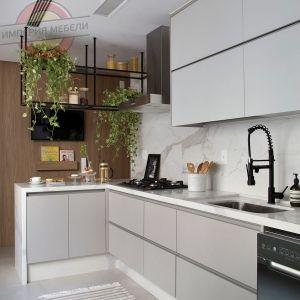 Кухня без ручек №3