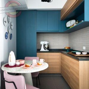 Кухня угловая маленькая №15