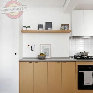 Кухня маленькая угловая №19