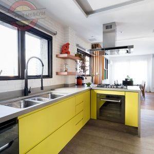 Кухня угловая эконом №1