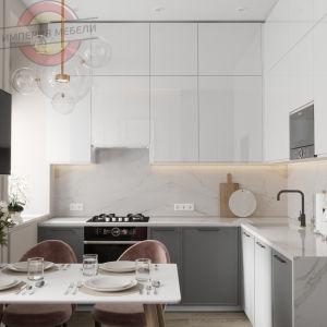 Кухня малогабаритная угловая №4
