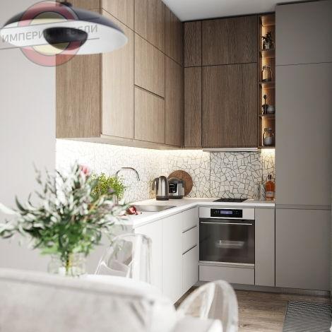 Кухня маленькая угловая №5