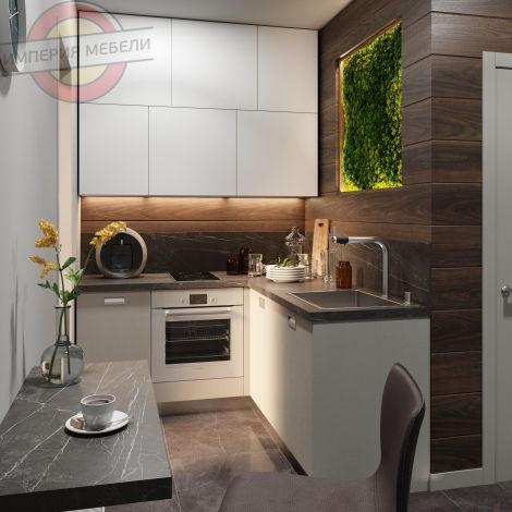 Кухня угловая эконом №10
