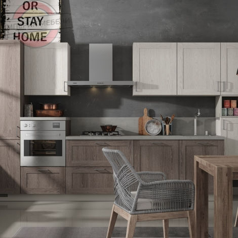 Кухня прямая линейная №11-2